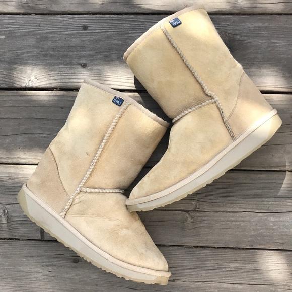403fa731cce Emu Australia Sheepskin Boots Tan Sz 9